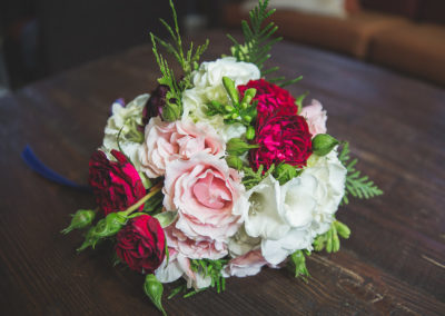 Fab Floral Ruby & Navy Wedding-42
