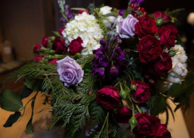 Fab Floral Ruby & Navy Wedding-44