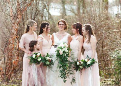 Fab Floral Rustic Blush Wedding-23