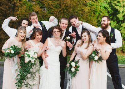 Fab Floral Rustic Blush Wedding-26