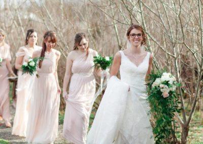 Fab Floral Rustic Blush Wedding-9